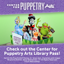 Click here to visit the Center for Puppetry Arts