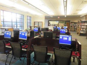 Public Computers at Cartersville Library
