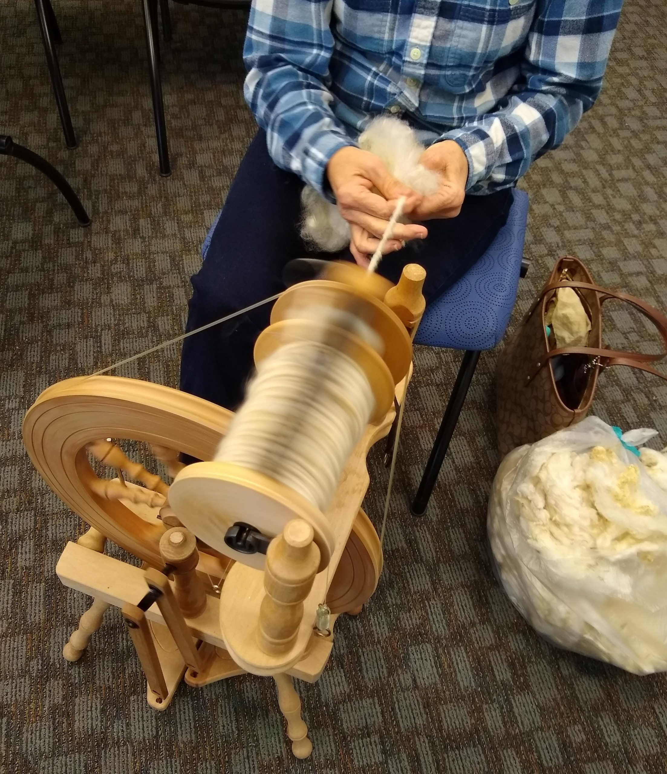 handspinners at The Bartow County Public Library
